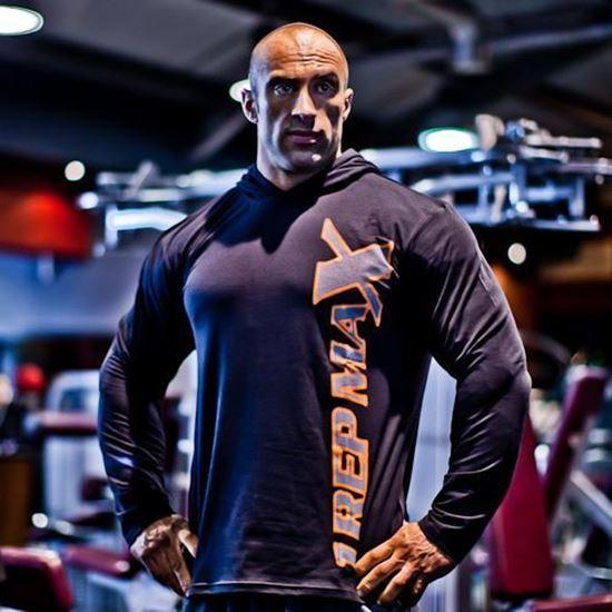 Black Bodybuilding Hoodie