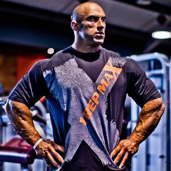 1 Rep Max X-Tee - Bodybuilding T-Shirt